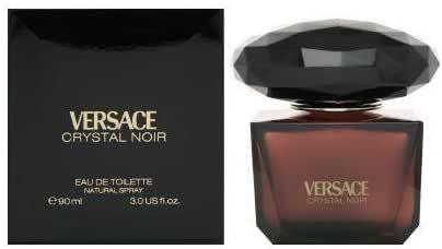 perfume versace crystal noir opiniones
