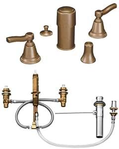 Moen ts5285az 9200 rothbury two handle bidet faucet with - Moen antique bronze bathroom faucets ...