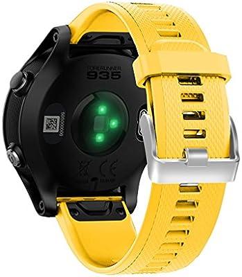 TopTen Garmin Forerunner 935 Correa de reloj de silicona, de ...