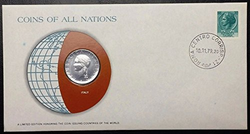 Unbranded COINS OF ALL NATIONS SERIES 1979 ITALY 100 LIRE SEALED IN COA CARD BU