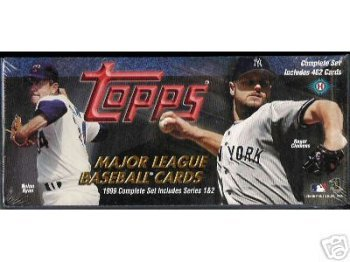 1999 TOPPS Baseball Cards Complete Factory Set of 462 Cards!