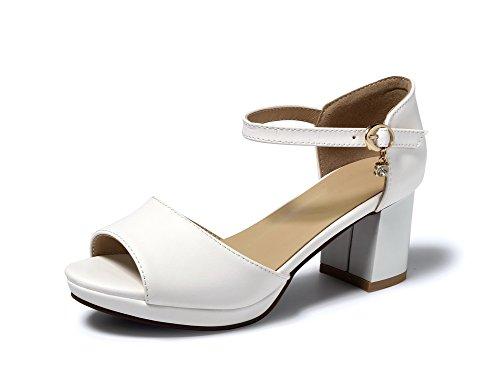 35 Mjs03562 1to9 Eu white Bianco Donna Sconosciuto Ballerine zOnxABq