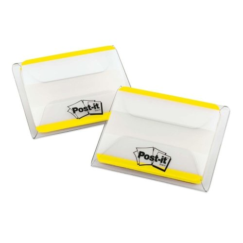 Filing Durable Flat Tabs (Wholesale CASE of 25 - 3M Post-it Extra Thick Durable Tabs-Durable Filing Tabs, Flat, 2
