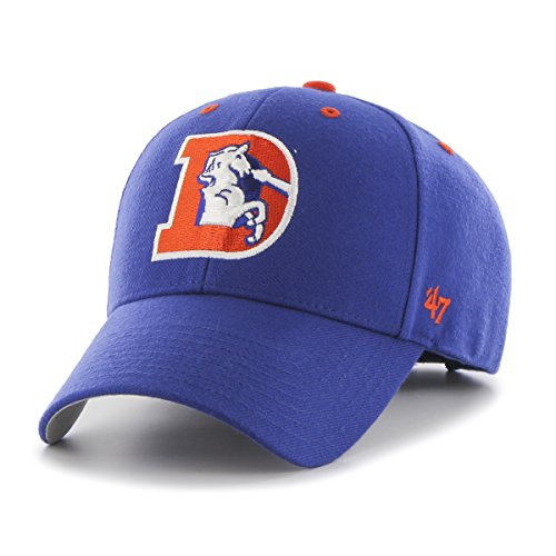 '47 NFL Denver Broncos MVP 1993 Adjustable Hat, One Size, Royal ()