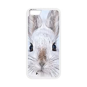 "T-TGL(RQ) Customized New Printed Phone Case for Iphone6 Plus 5.5"" diy Rabbit case"