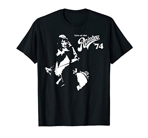 Queen Official Live At The Rainbow 74 Freddie T-Shirt