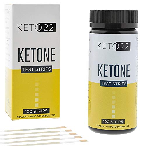 Keto 22 Ketosis Test Strips - 100 Ketone Strips - Accurate Ketone Test Strips - Monitor and Maintain a Low Carb Ketogenic Diet with Keto Test Strips. Lose Weight Feel Great - Keto Strips (Difference Between Positive Attitude And Negative Attitude)