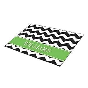 Yaner Green Doormat Designs Custom Design Family Name Indoor Mats