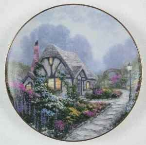 Thomas Kinkade Collector Plate - 8