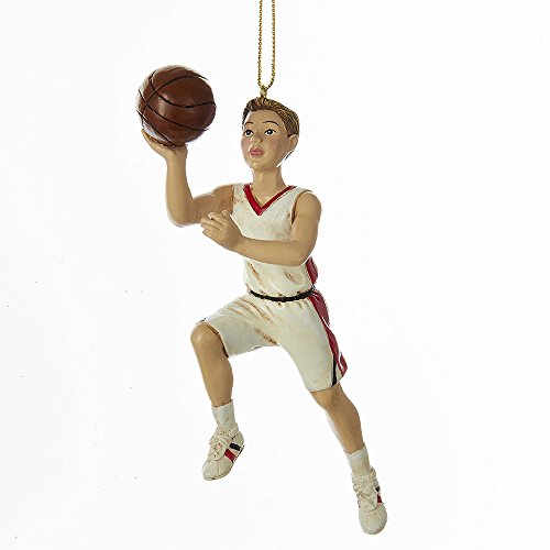Kurt Adler 6-Inch Resin Basketball Boy