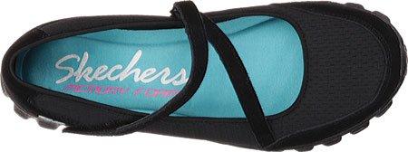 Skechers  Ez Flex 2 - A-game, Chaussures de sport femme - noir - noir, 35 EU