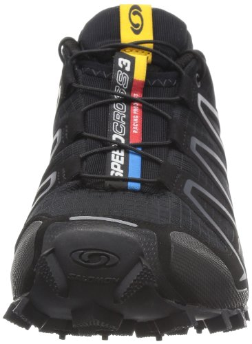 Speedcross Black Salomon Black Metallic Silver Shoes 3 Trail Running Black Women's x W Synthetic ppa5H