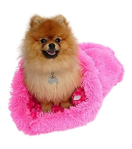 The Dog Squad Acogedor peluche plush, Rosa Polvo Puff