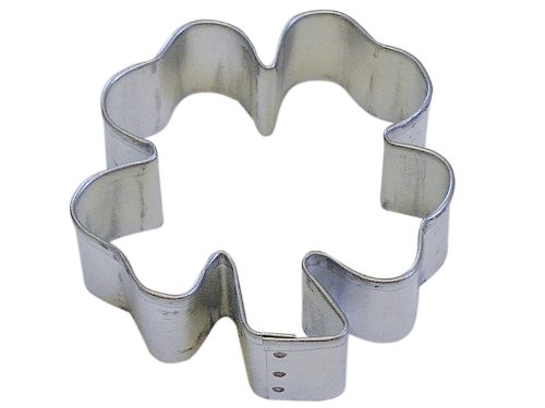 R&M Clover 2.75 inch Cookie Cutter in Durable, Economical, Tinplated Steel