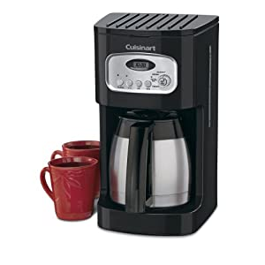 Cuisinart DCC-1150BK 10-Cup Classic Thermal Programmable Coffeemaker, Black