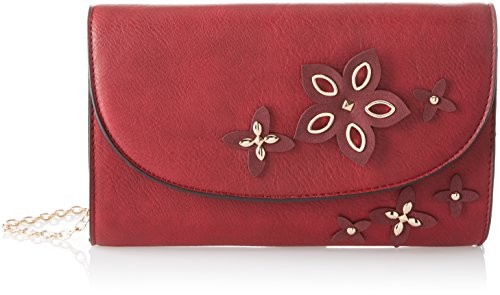Smart Burgundy Rouge Lisa Pochettes Swankyswans Faux Leather qxHA1T5T