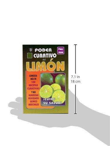 Poder curativo del limon (Spanish Edition): May Ana: 9789706660251: Amazon.com: Books