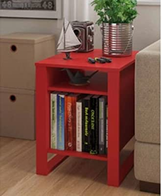 Great-looking Transitional Style Side Table with an Open Leg Design & a Sleek Finish