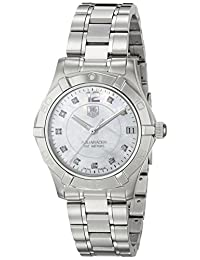 TAG Heuer Women's Aquaracer Quartz Watch Mother-Of-Pearl WAF1312.BA0817