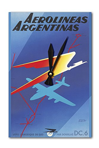 aerolineas-argentinas-vintage-poster-artist-colin-france-c-1950-acrylic-wall-clock