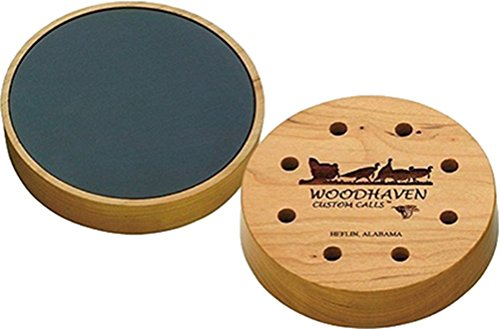 Friction Slate Turkey Call - WOODHAVEN CALLS Woodhaven Custom Calls Cherry Classic Slate Friction WH056
