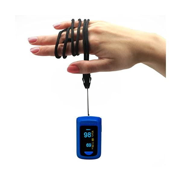 Medx5OLED pantalla a colori, pulsossimetro, pulsossimetro Da dito, dispositivo per la misurazione del polso, ossimetro, misuratore Da polso, prodotto Medico 50 unidades 8