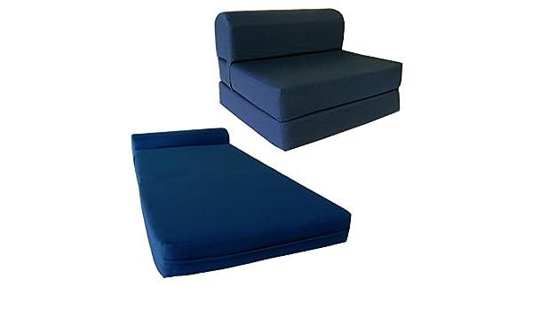 on sale 136aa e2b08 D&D Futon Furniture Chair Folding Foam Bed, Studio Sofa Guest Folded Foam  Mattress (6