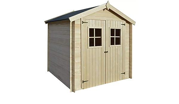ghuanton Caseta de Exterior para el jardín 2x2m Madera de 19mm Casa y jardín Jardín Artículos de Exterior Estructuras de Exteriores Cobertizos, casetas y cabañas: Amazon.es: Hogar