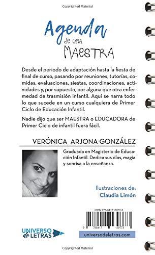 Agenda de una maestra (Spanish Edition): Verónica Arjona ...