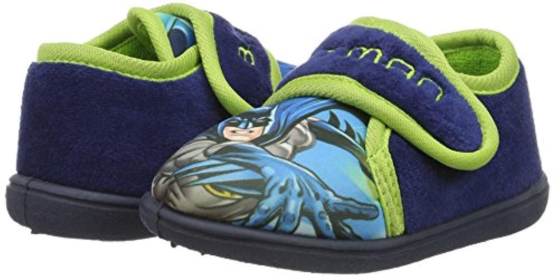 Batman Boys' Bat Bekim Open Back Slippers blue Size: 5 Child UK