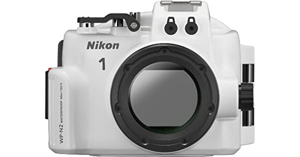 Amazon.com: Nikon WP-N2 carcasa sumergible para 1 J3 o 1 S1 ...