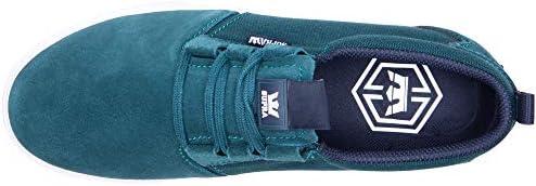 Mens Flow Black Black Skate Shoes [並行輸入品]