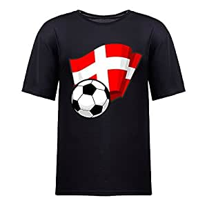 Custom Mens Cotton Short Sleeve Round Neck T-shirt,2014 Brazil FIFA World Cup Soccer Flags black
