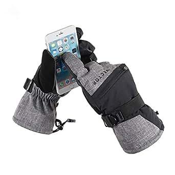 Amazon.com : JFDSYLHS Ski Gloves Men Women Touch Screen