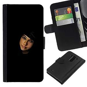 All Phone Most Case / Oferta Especial Cáscara Funda de cuero Monedero Cubierta de proteccion Caso / Wallet Case for LG G3 // Seeking contacts
