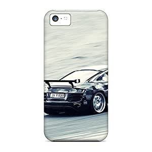 MMZ DIY PHONE CASEAwesome Audi R8 Flip Case With Fashion Design For ipod touch 5