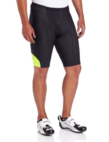 Pearl Izumi Men's Attack Shorts, Yellow, Small (Pearl Izumi Attack Bike Shorts)
