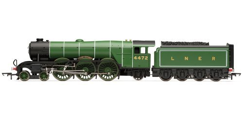 Hornby Railroad 00 Gauge LNER Class A1 Flying Scotsman with TTS Sound Steam Locomotive by Hornby by Hornby Hobbies Ltd
