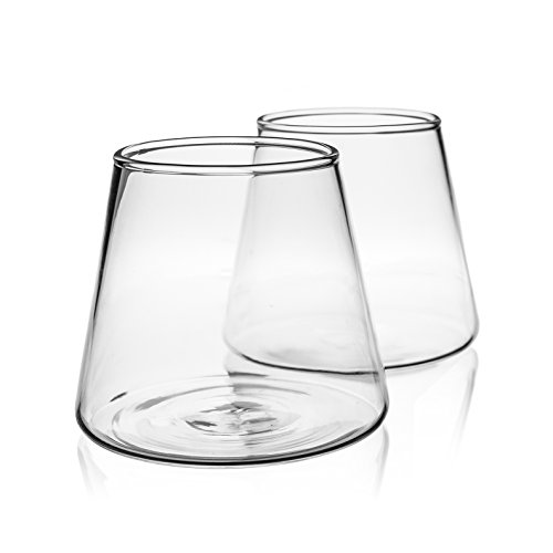 Beer-Glasses-With-Unique-Conical-Design-98oz-280ml-Set-of-2