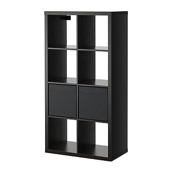 Amazon.com: IKEA Kallax/DRONA – Estantería con 2 inserciones ...