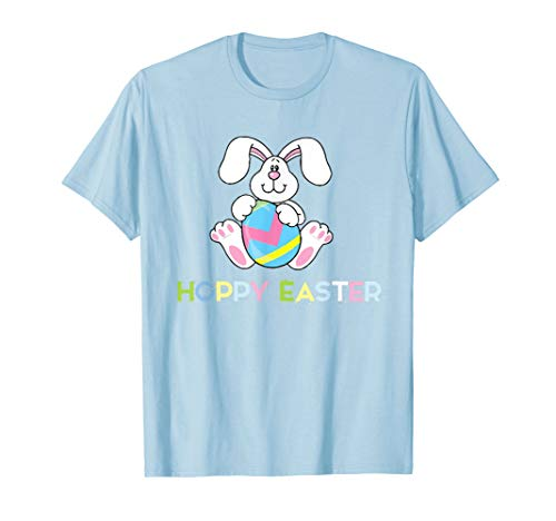 Happy Easter Hoppy Bunny Fun T-Shirt