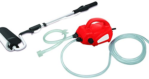 AdirPro Electric Power Paint Roller - Drip Free - Delivers Directly To The Brush - Less Mess And Easy Cleaning