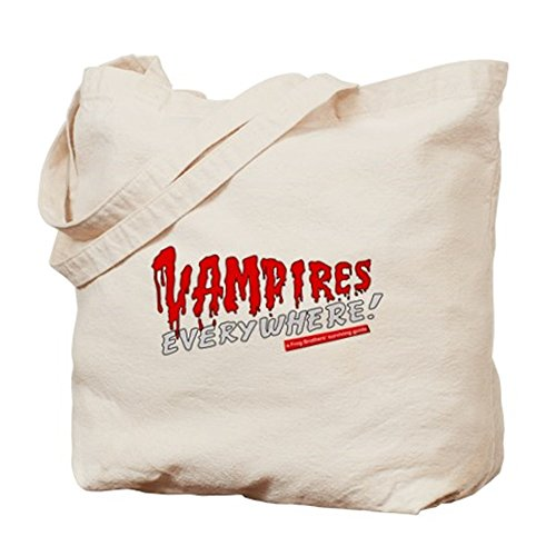 [CafePress - The Lost Boys - Vampires Everywhere Tote Bag - Natural Canvas Tote Bag, Cloth Shopping] (Best Cult Halloween Movies)
