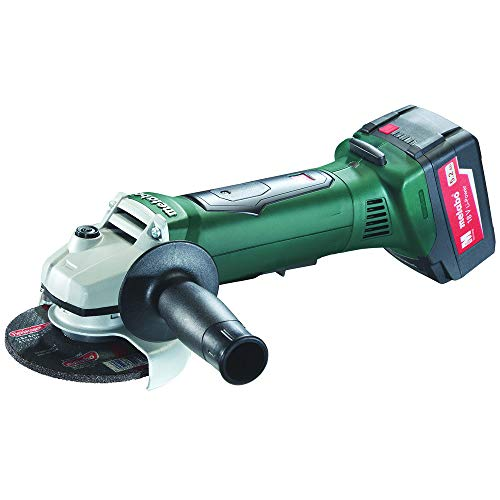 Cheap Metabo 613071520 18V 5.2 Ah Cordless Lithium-Ion 4-1/2 in. Non-Locking Angle Grinder Kit