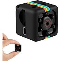 Mini Camera, Mini SD Camera 1080P Full HD Portable Small HD Nanny Camera Applicable to families and offices (Black)
