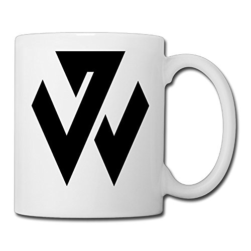 Christina John Wall Logo Ceramic Coffee Mug Tea Cup White (1 Liter Gatorade Water Bottle)