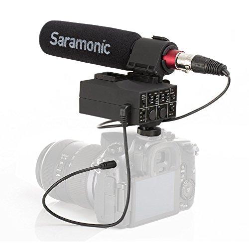 Saramonic MixMic Shotgun Microphone with Integrated 2-Channe