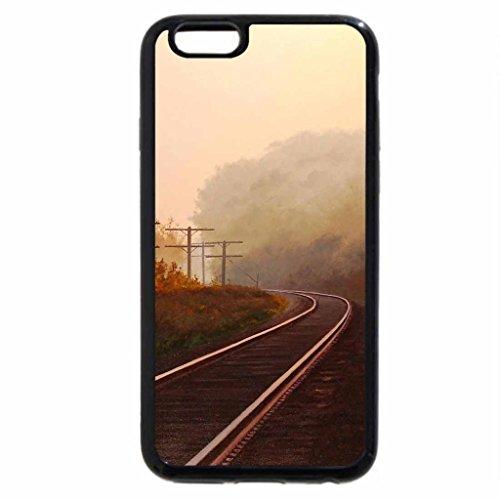 iPhone 6S Plus Case, iPhone 6 Plus Case, Railroad Track in Autumn