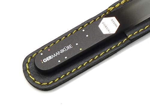 Crystal glass fingernail & toe nail file for manicure & pedicure by Germanikure