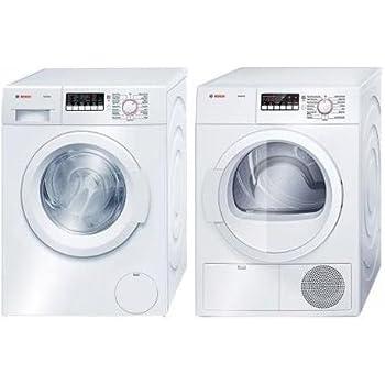Amazon.com: Bosch Color Blanco Carga laundy Par frontal con ...